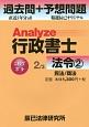 Analyze行政書士 過去問+予想問題 法令2 民法/商法 (2)
