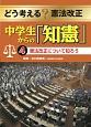 どう考える?憲法改正 中学生からの「知憲」 憲法改正について知ろう (4)