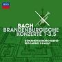 J.S.バッハ:ブランデンブルク協奏曲 第1番~第3番・第5番