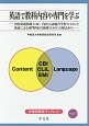 英語で教科内容や専門を学ぶ 内容重視指導(CBI)、内容言語統合学習(CLIL