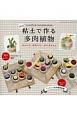 粘土で作る多肉植物 ぷっくりかわいいタニクちゃん<改訂版>