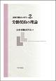 講座 労働法の再生 労働契約の理論 (2)