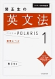 大学入試問題集 関正生の英文法ポラリス 標準レベル(1)
