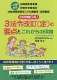 3法令改訂(定)の要点とこれからの保育 平成29年告示 幼稚園教育要領 保育所保育指針 幼