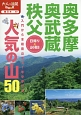 奥多摩・奥武蔵・秩父 人気の山50