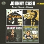 WITH HIS HOT AND BLUE GUITAR / JOHNNY CASH SINGS THE SONGS THAT MADE HIM FAMOUS / THE FABULOUS JOHNN
