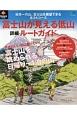 富士山が見える低山詳細ルートガイド PEAKS特別編集