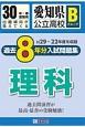愛知県公立高校 Bグループ 過去8年分入試問題集 理科 平成30年 H29~22年度を収録