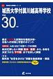 城西大学付属川越高等学校 平成30年 高校別入試問題シリーズD2