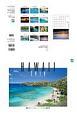 眺めていたい、ハワイの風景カレンダー 2018