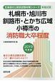 札幌市・旭川市・釧路市・とかち広域・小樽市の消防職大卒程度 北海道の公務員試験対策シリーズ 2019