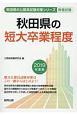 秋田県の短大卒業程度 秋田県の公務員試験対策シリーズ 2019