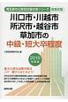 川口市の中級・短大卒程度 埼玉県の公務員試験対策シリーズ 2019