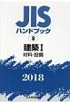 建築1 材料・設備 2018 JISハンドブック8