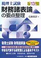 税理士試験 財務諸表論の要点整理<第13版>