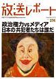 放送レポート 2018.9 政治権力vsメディア 日本の「共犯者たち」は誰だ (274)