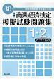 全商 商業経済検定 模擬試験問題集 1・2級 マーケティング 平成30年 全国商業高等学校協会主催