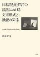 日本語と朝鮮語の談話における文末形式と機能の関係 中途終了発話文の出現を中心に